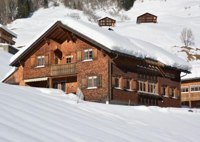Ferienwohnungen-Beer-Schoppernau-Haus-Winter-2
